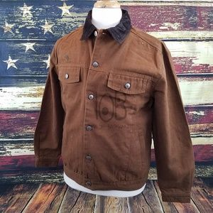 MENS CHISUM CONCEALED CARRY CANVAS WESTERN JACKET